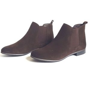 Circus by Sam Edelman Brown Suede booties